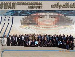 صور  مطار أسوان يحتفل بتسلمه الرخصة الدولية
