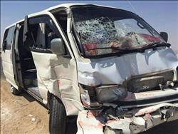 الصحة: إصابة 12 مواطناً في حادث تصادم أمام العاصمة الجديدة