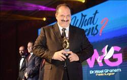 فيديو| خالد الصاوي ينفي 3 شائعات خلال ظهوره بحفل what happens