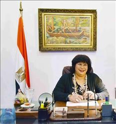 وزيرة الثقافة: فخورة بفني وما حققته في دار الأوبرا