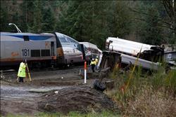 خروج قطار أنفاق بواشنطن عن قضبانه دون إصابات