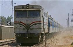 السيطرة على حريق بجرار قطار في محطة شبرا الخيمة