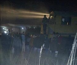 وفاة شخصين في تصادم قطار بسيارة بقليوب