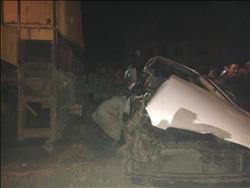 عودة حركة القطارات بعد حادث تصادم على خط «قليوب - شبين»