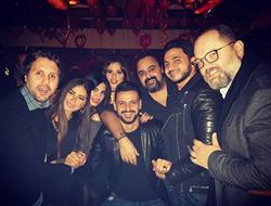 بالصور  ياسمين عبد العزيز تحتفل بعيد ميلادها بحضور نجوم الفن