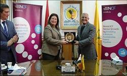 «ايتيدا» تطور مهارات طلاب الاتصالات وتكنولوجيا المعلومات بجامعة المنيا