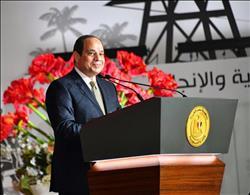 السيسي للمصريين: أنتم أكرمتوا وشرفتوا بلدكم.. وما تحقق في ٤ سنوات ماضية بفضلكم |صور
