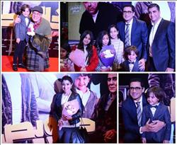 40 صورة من احتفال أحمد عيد وأيتن عامر بعرض «خلاويص»