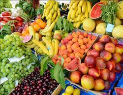 أسعار الفاكهة بسوق العبور..والبرتقال البلدي بـ 3 جنيهات