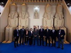 إقبال كبير على الجناح المصري في المعرضالسياحي «فيتور»