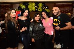 صور| الفنانين يشاركون مصطفى محفوظ الاحتفال بعيد ميلاد ابنه