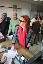 نبيلة عبيد تحرر توكيلا لترشح السيسي لفترة رئاسية ثانية
