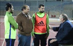 تفاصيل جلسة رئيس المقاصة مع «سامي» و«مودى»  قبل مباراة الأهلي