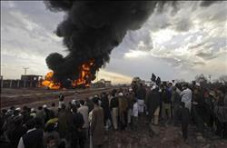 مقتل 12 مدنيا في انفجار لغم غربي أفغانستان