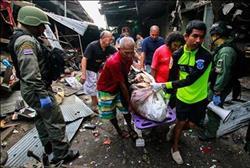 مقتل 3 أشخاص وإصابة 18 آخرين إثر تفجير قنبلة بسوق في تايلاند