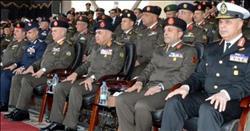 وزير الدفاع يشهد الاحتفال بانتهاء فترة الإعداد لطلبة الكليات والمعاهد العسكرية