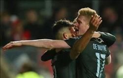 فيديو.. مانشستر سيتي يتأهل إلى نهائي كأس رابطة المحترفين