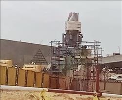 بالصور والفيديو| التجهيزات الأخيرة لنقل تمثال رمسيس إلى البهو العظيم