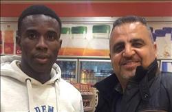 لاعب الإسماعيلي الجديد يصل مطار القاهرة