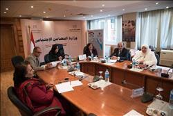 «غادة والي» تبحث سبل التعاون مع وفد الاتحاد البرلماني الدولي
