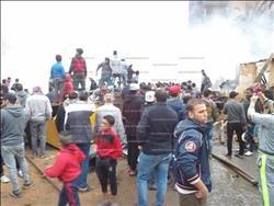 إخلاء 10 منازل بمحيط «حريق الهرم» منعا لوقوع مصابين