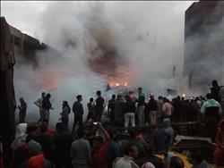 «الصحة»: إصابة 19 مواطنا بالاختناق في حريق بشارع الهرم