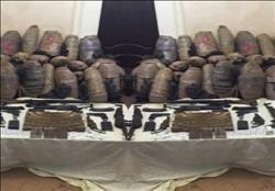 ضبط 22 كيلو بانجو و4 كيلو حشيش في حملات أمنية بالمحافظات