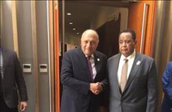 وزيرا خارجية مصر والسودان يؤكدان عمق العلاقات بين البلدين