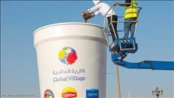 صور| دبي تدخل موسوعة «جينيس» بـ «أكبر كوب شاي في العالم»