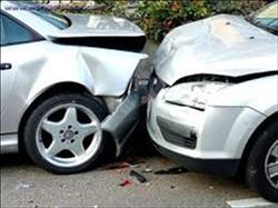 مصرع شرطي في حادث تصادم في المنيا بسبب سوء الأحوال الجوية