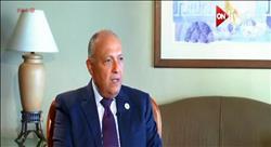 وزير الخارجية:  مصر لا يمكنها الدخول فى حروب مع أشقائها