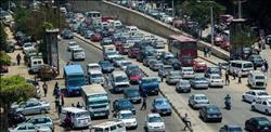 كثافات مرورية بمحاور وميادين القاهرة