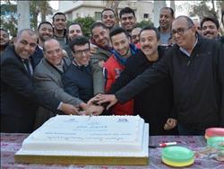 صور| بدء احتفالية «قانون عمر» بحضور صادق الصباح وحمادة هلال
