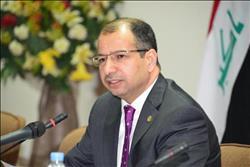 رئيس النواب العراقي خلال لقائه محلب يؤكد أهمية مشاركة مصر في إعمار العراق