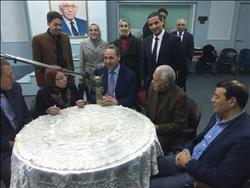 ندوة لوزير الثقافة الجزائري في صوت العرب