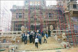 صور  الانتهاء من 40% من ترميم «قصر البارون»