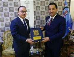 وزيرالاتصالات يستعرض مع نظيره العراقي خطة مصر للتحول الرقمي