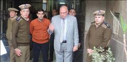 مدير أمن القليوبية يقود حملة علي كورنيش بنها