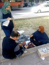 «التضامن»: التدخل السريع ينقذ أسرة تفترش الرصيف بمدينة نصر