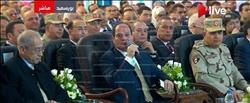 حقل ظهر| فيديو.. الرئيس السيسي يوجه رسالة للإعلام