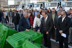 محافظ الإسكندرية: ضم معدات جديدة تنضم لمنظومة النظافة