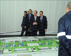 تفاصيل| افتتاح الرئيس السيسي حقل «ظُهر» للغاز الطبيعي