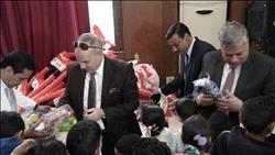 أمن المنوفية يحتفي بأسر الشهداء في عيد الشرطة