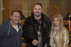 صور| رامي عياش في شرم الشيخ لإحياء حفل الليلة