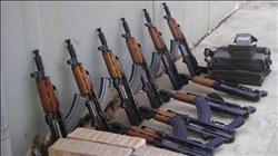 ضبط رشاش جرينوف و12 بندقية آلية خلال حملات أمنية بقنا