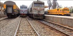 سقوط عجلة بوجي قطار «القاهرة - السد العالي» دون إصابات