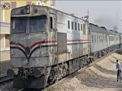 خروج قطار عن القضبان وإصابة 3 أشخاص بالإسماعيلية
