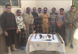 مباحث القاهرة تمنع مشاجرة بالأسلحة قبل حدوثها وضبط 2 سلاح نارى