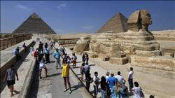 «الآثار»: الأهرامات استقبلت 173 ألف زائر خلال إجازة نصف العام