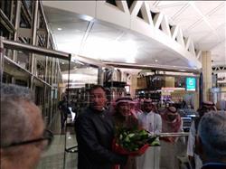 وصول بعثة الأهلي المشاركة في مهرجان السعودية.. «صور»
